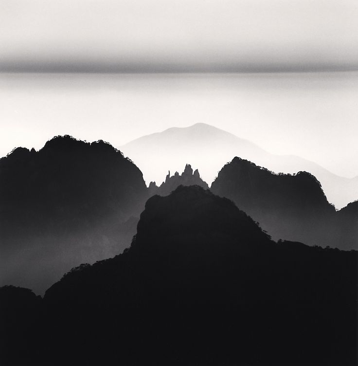 Huangshan Mountains Study Anhui China from http://www.curiousanimal.com