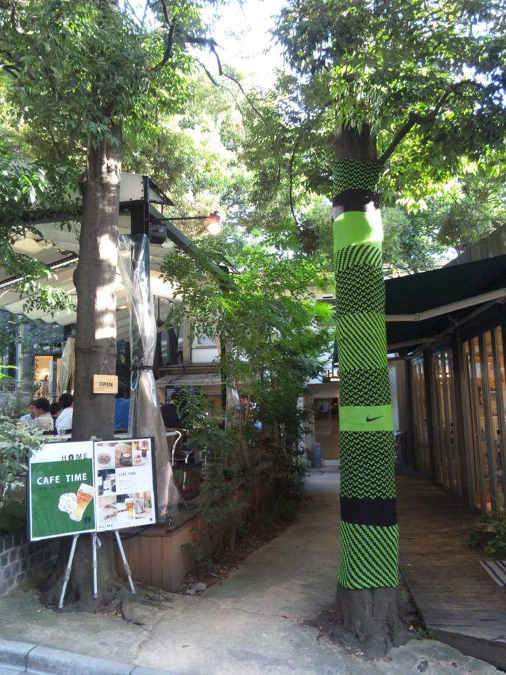 「UGOKIDASE TOKYO」NIKE japan INNOVATION HUNT 7月28日(土)~8月11日(土) 原宿周辺のお店などに隠されているアイテムを探し、タイムを競うゲーム。編みアイテム担当。
