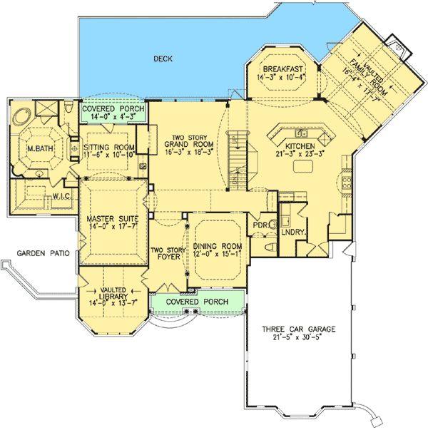 54ea449fab82555761b30f1a169aff9c european house plans master suite 108 best images about house plans on pinterest 2nd floor, house,Two Master Suite House Plans