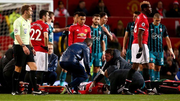 Romelu Lukaku out for a week with head injury #News #Football #ManUtd #PremierLeague #RomeluLukaku