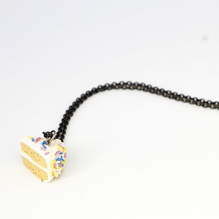Vanilla Cake Necklace