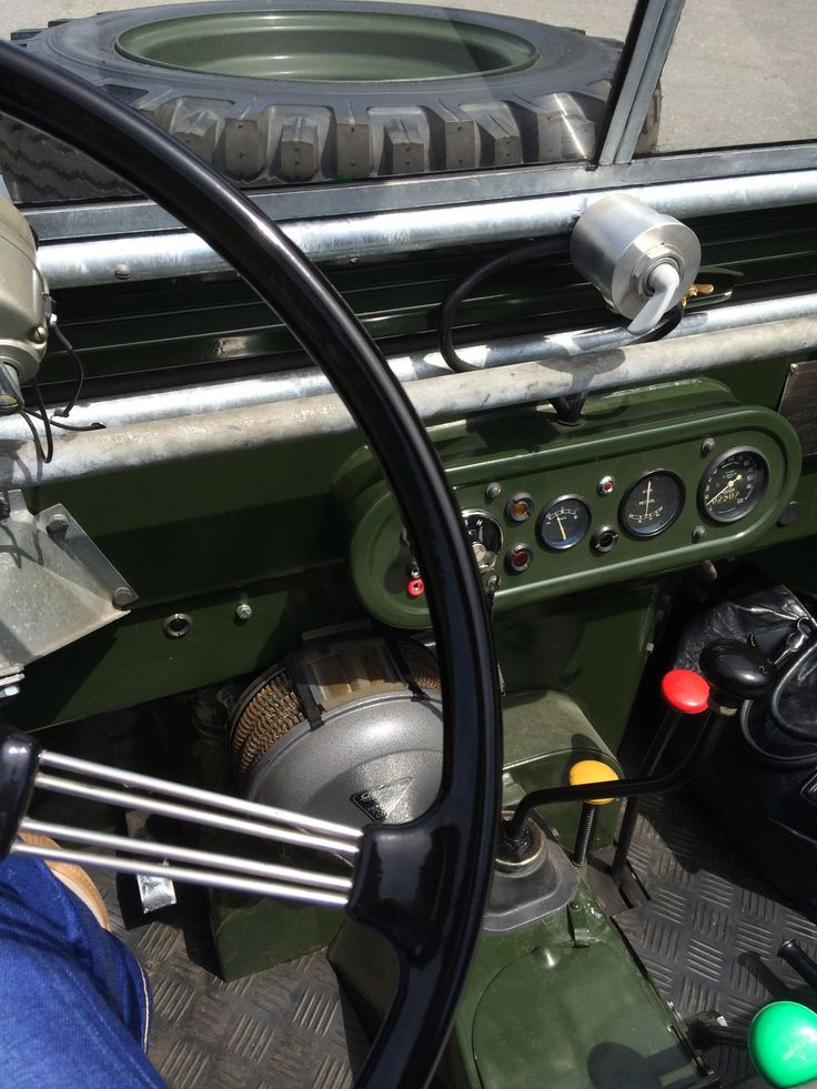 Serie I with overdrive (green gear lever)