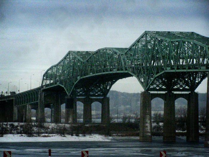 Cantilever Bridge   Champlain Bridge, Montreal Canada