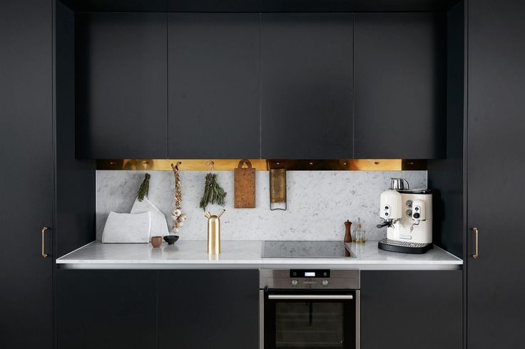 A Little Goes a Long Way: Brass Details To Warm Up Your Kitchen