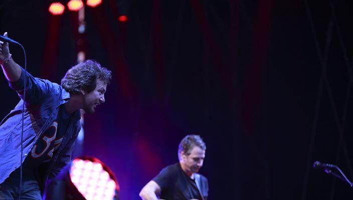 I Pearl Jam incantano a Milano. Di Danilo Di Costanzo