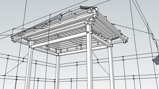 Rumah Jawa - Tumpang Sari - 3D Warehouse