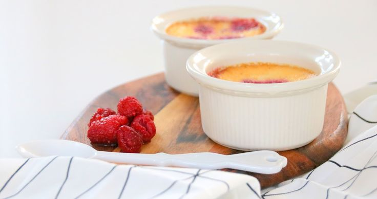 Baked #berry #creamcheese #custards #homemade