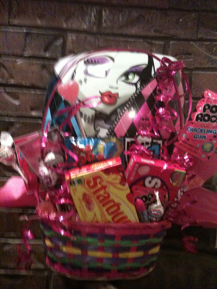 Monster High Easter Basket: Easter Baskit, Frank Easter, High Easter, Big Easter, Easter Baskets
