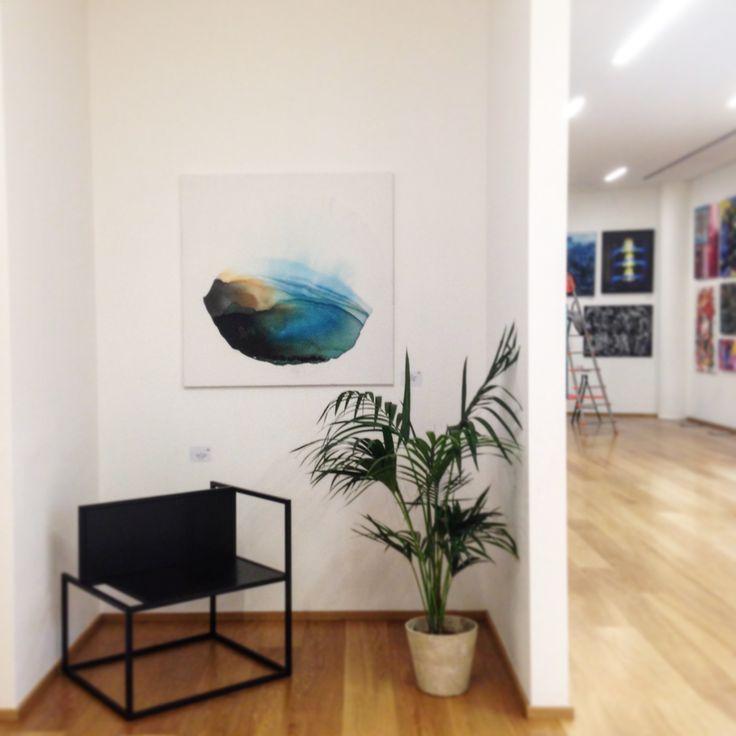 #ilariafranza #painting @basezero #astalife @casacanvas #gallery #contemporaryart #landscape