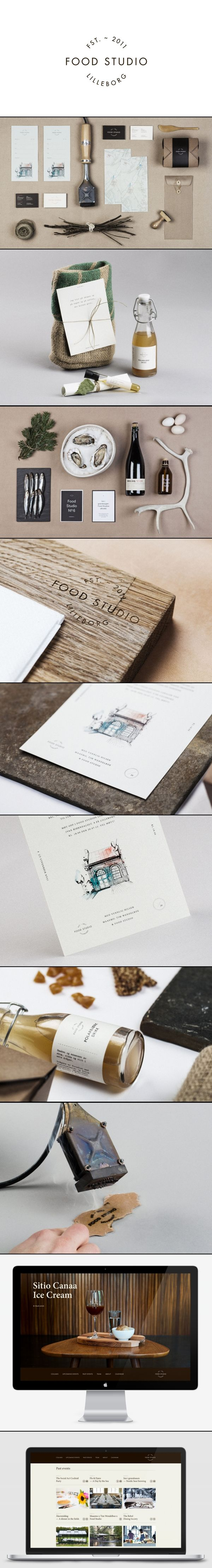 Food studio Design agency Bielke+Yang #identity #packaging #branding PD
