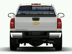 Check out this sweet new decal Support Police Th... click here to check it out! http://www.thisguysdecals.com/products/support-police-thin-blue-line-truck-window-graphic?utm_campaign=social_autopilot&utm_source=pin&utm_medium=pin