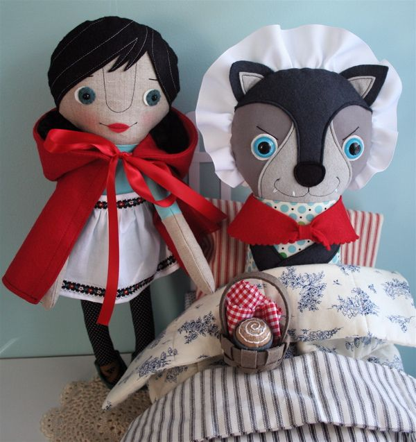 Pattern by mmmcrafts @Myra Dunn: Red Pdf, Little Red, Lil Red, Doll Patterns, Pdf Dolls, Li L Red, L Il Red, Dolls Patterns, Red Riding