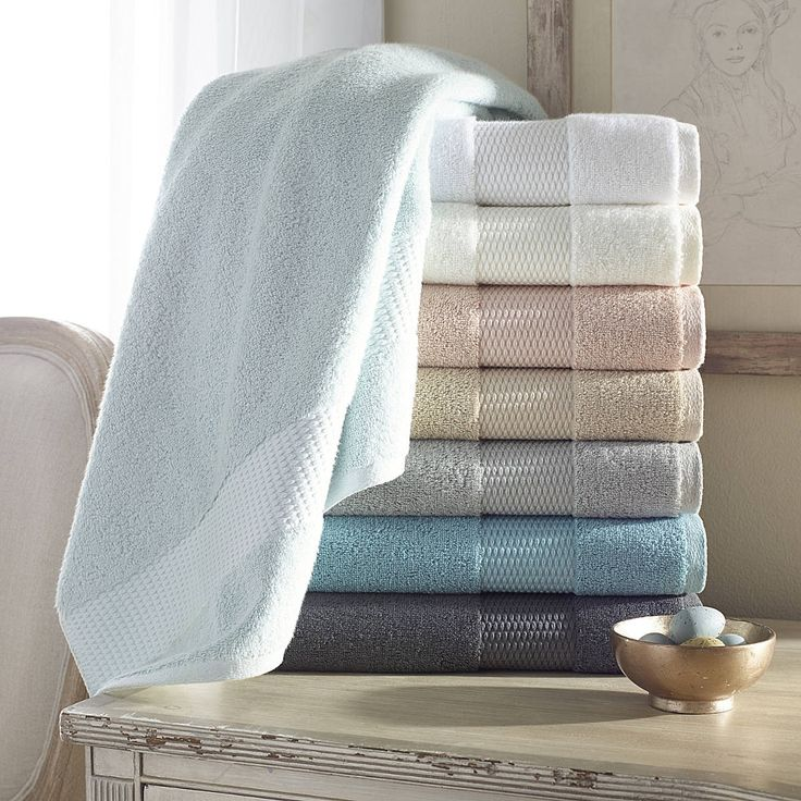 aria crafted through the unique aerocotton spinning process these bath towels are in