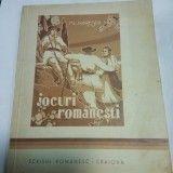DANSURI NATIONALE - jocuri romanesti - AL. DOBRESCU - Carte folclor