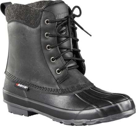 Baffin Men's Moose All-Season Insulated Snow Boots Black 12