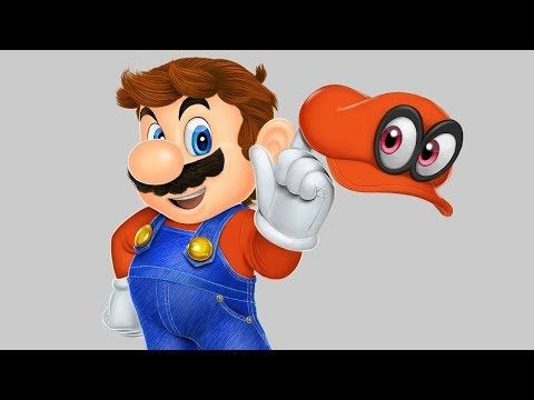 How To Draw - Super Mario Odissey - nintendo switch - YouTube