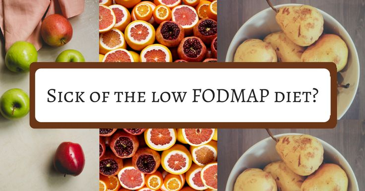 How to Avoid Burnout on the Low FODMAP Diet