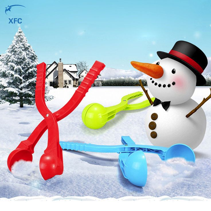XFC Winter Snow Ball Maker Sand Mold Clip Tool Children Kid Lightweight Compact Snowball Fight Outdoor Sport Toy #>=#>=#>=#>=#> Click on the pin to check out discount price, color, size, shipping, etc. Save and like it!