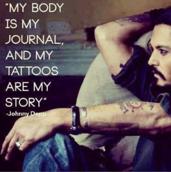 File under: Reasons Johnny Depp is my favorite tattooed celebrity. 8531 Santa Monica Blvd West Hollywood, CA 90069 - Call or stop by anytime. UPDATE: Now ANYONE can call our Drug and Drama Helpline Free at 310-855-9168.