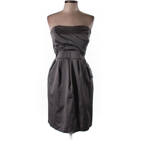 10 Best ideas about Gray Cocktail Dress on Pinterest - Purple ...