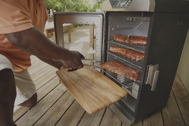 Check out the 3-2-1 method to smoke ribs in an electric smoker.