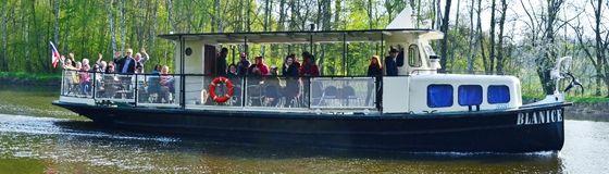 Výletní loď Blanice - vyhlídkové plavby Polabí