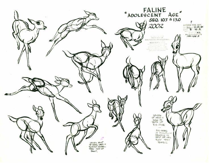la magia de la animación: ¿Cómo se mueven los animales? bambi