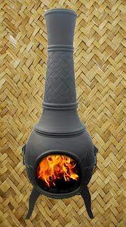 Chiminea / outdoor fireplace