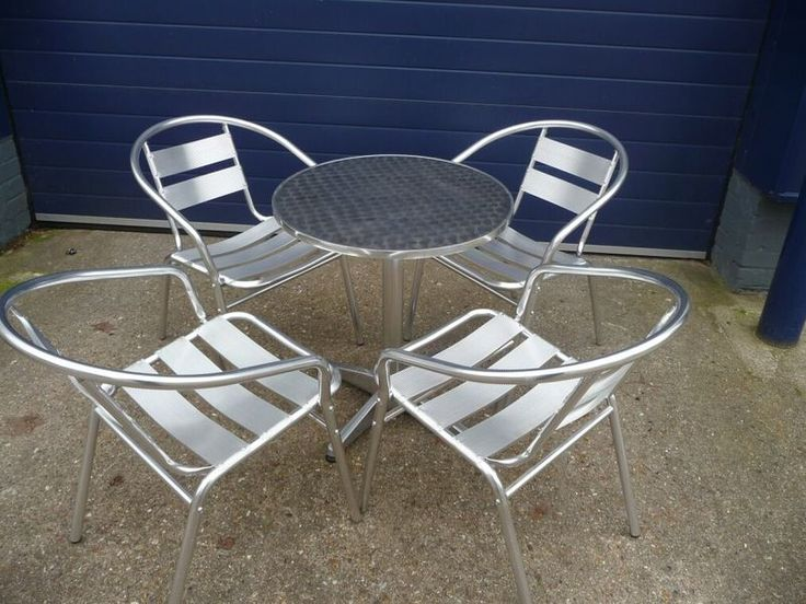 Aluminium Bistro Table And Chairs Chairs And Tables, Aluminium Bistro Table And Table