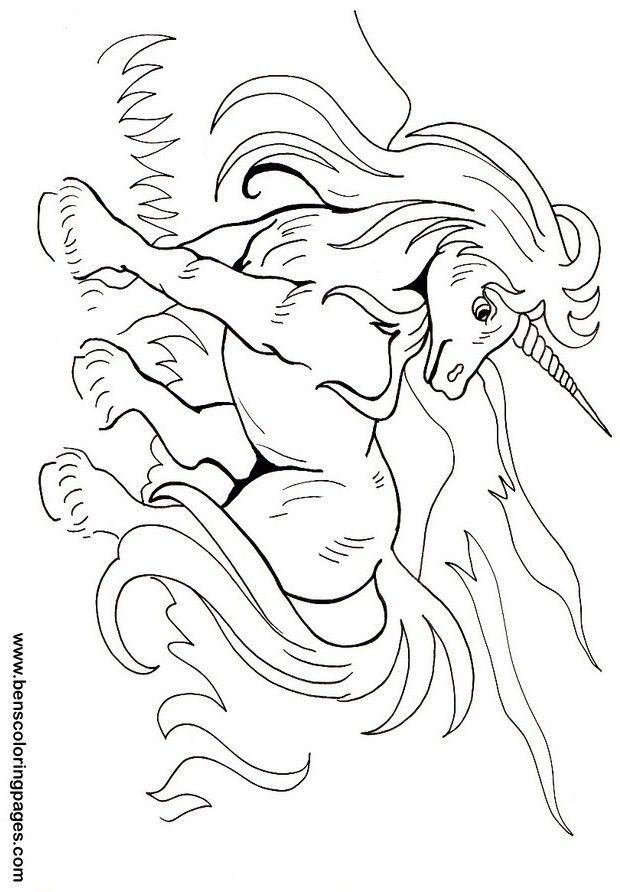 unicorn coloring pages Coloring