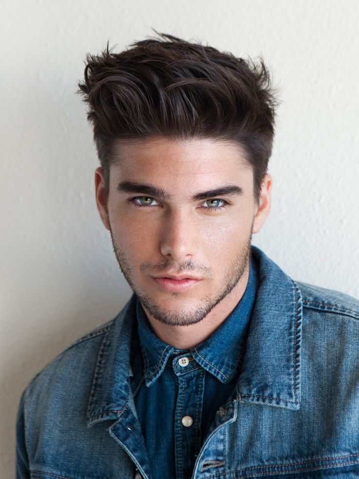 Charlie Matthews A Variation Of Medium To Long Hair Standing Up Voluminously Style Hair