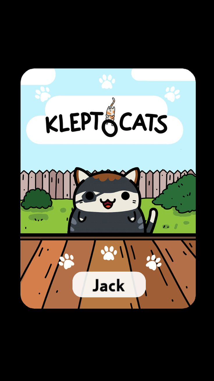 #KleptoCats Here's my new friend