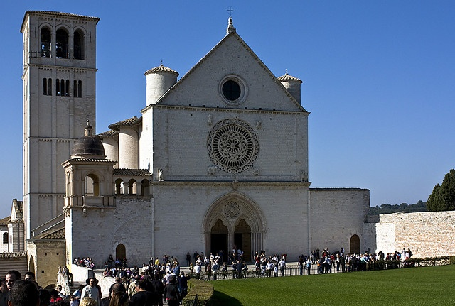 La Basilica di San Francesco d'Assisi where Gabriel and Julia got married. (Gabriel's Inferno)