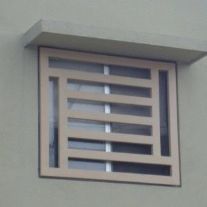 M s de 25 ideas fant sticas sobre rejas para ventana en - Rejas de diseno moderno ...