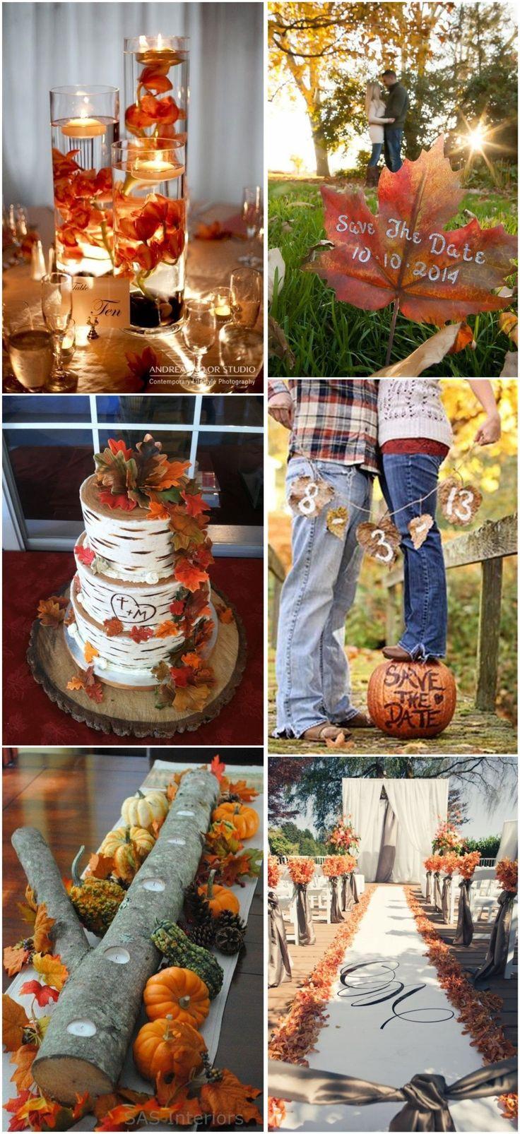 248 best Autumn Wedding Ideas images on Pinterest | Fall home decor ...