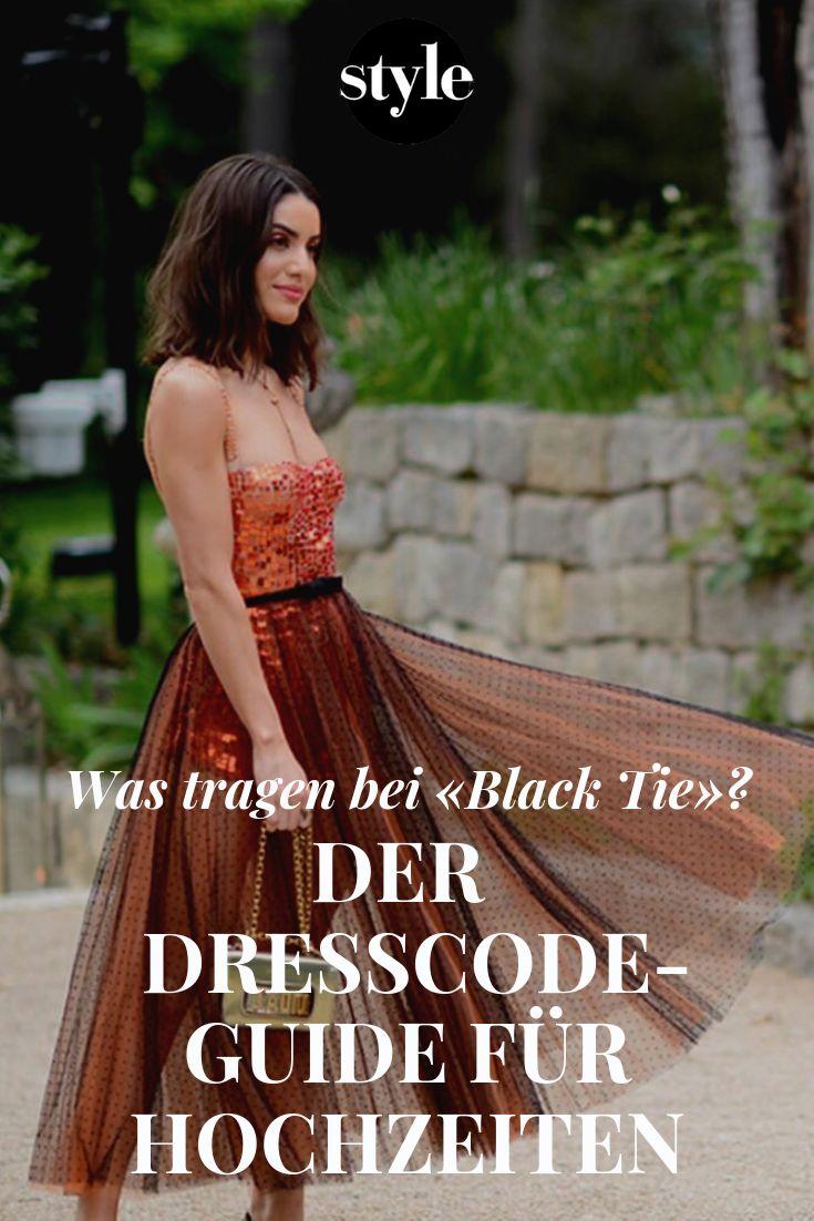Der Dresscode-Guide für Hochzeiten