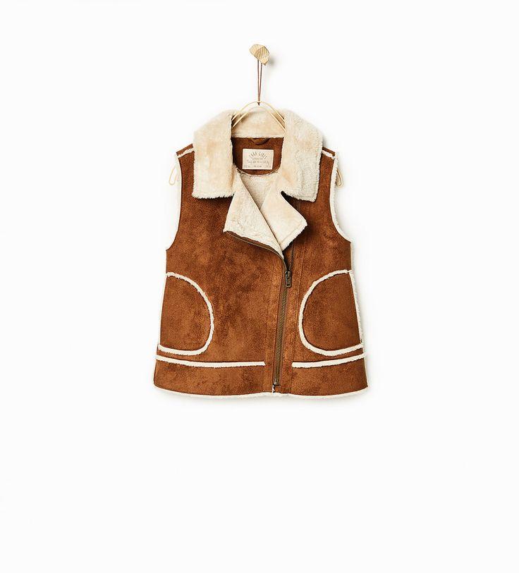 Image 1 of Double-faced waistcoat from Zara
