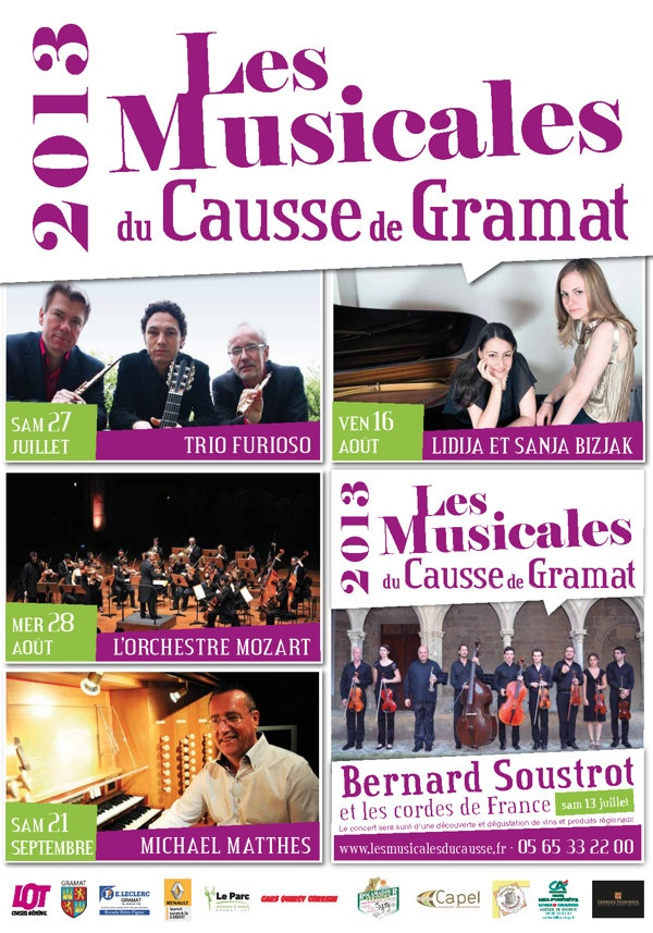 Musicales du Causse - com 2013 by e-Pix , via Behance