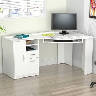 youll love the inval computer desk at wayfair great deals on all office modern home