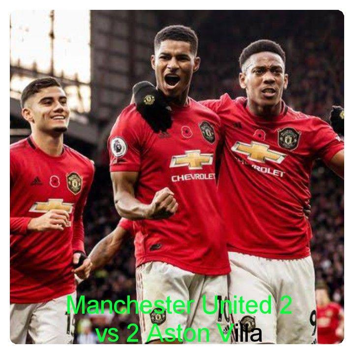 Manchester United Vs Aston Villa 2 2 Highlights Download Video Manchester United Aston Villa Manchester
