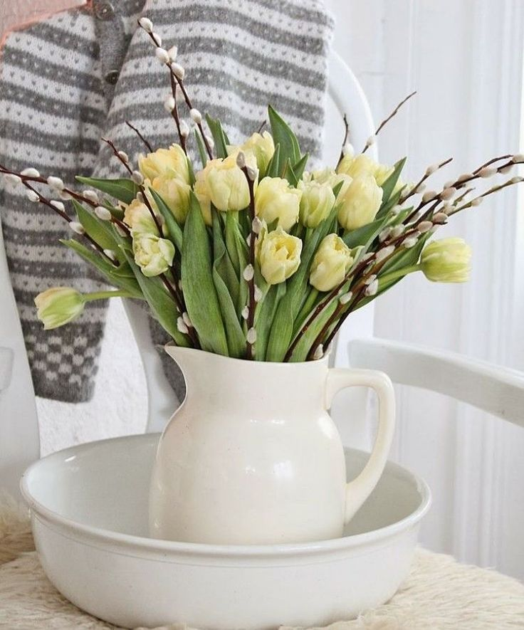 17 meilleures id es propos de tulipes jaunes sur - Pinterest fruhlingsdeko ...