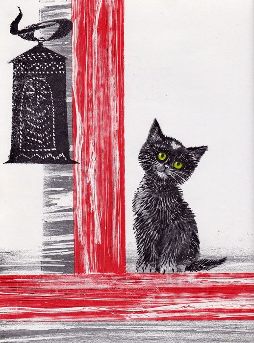 Illustration By Leonard Weisgard From The Book Valentine Cat Wtitten Clyde