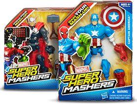 Marvel Super Hero Mashers Toys | Action Figure Toys | Kids Super Hero Toys