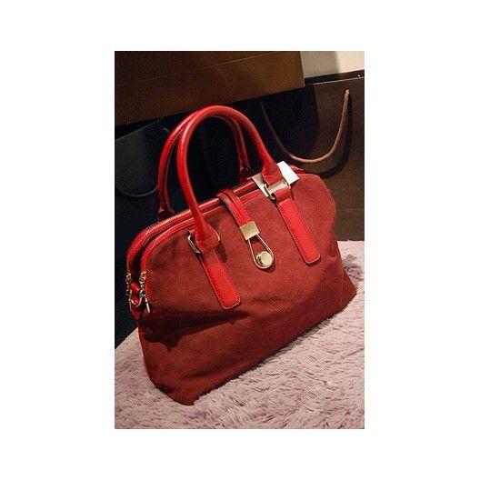 High quality leather handbag