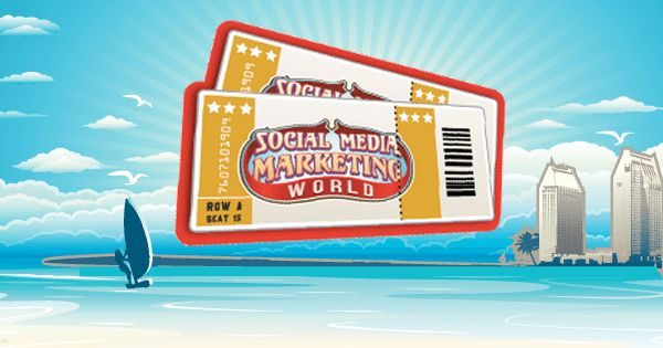 If travelling to Social Media Marketing World 2017 is not an option for you, then you should purchase a Virtual Ticket and have the conference come to you instead!  Social Media Examiner have JUST RELEASED their Virtual Ticket for Social Media Marketing World in San Diego next March and you can save $400 if you purchase your ticket by Friday!   With your Virtual Ticket, you'll get ONLINE access to 140+ educational sessions for a fraction of the cost of attending Social Media Marketing World…