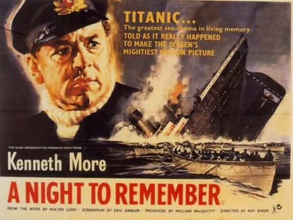 15 best chapter books for kids about the titanic images on much better is 1958s a night to remember based on the fandeluxe Document