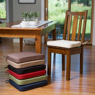 26 best Dining Chair Cushions With Ties images on Pinterest ...