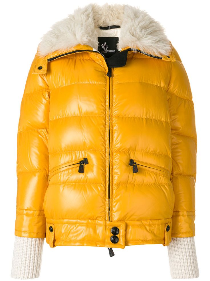 Moncler Chaquetas Fitted blancas