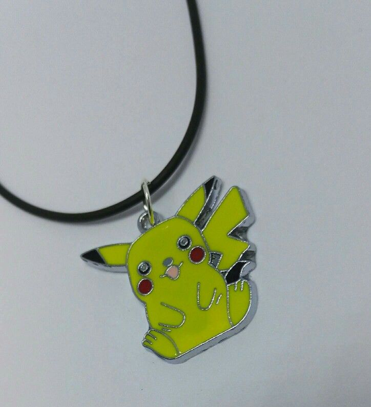 Excited to share the latest addition to my #etsy shop: Children's pokemon necklace- stocking filler - advent calendar filler - girls gift - boys gift -pikachu necklace #jewelry #girlsgift #boysgift #stockingfiller #adventcalendars #Pokemon #pikachu http://etsy.me/2iOdthY