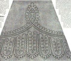 1864.  Der Bazar: Illustrirte Damen-Zeitung.  Braid pattern.